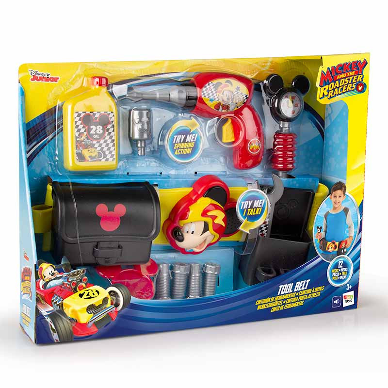 Cinto de Ferramentas Mickey e os Superpilotos