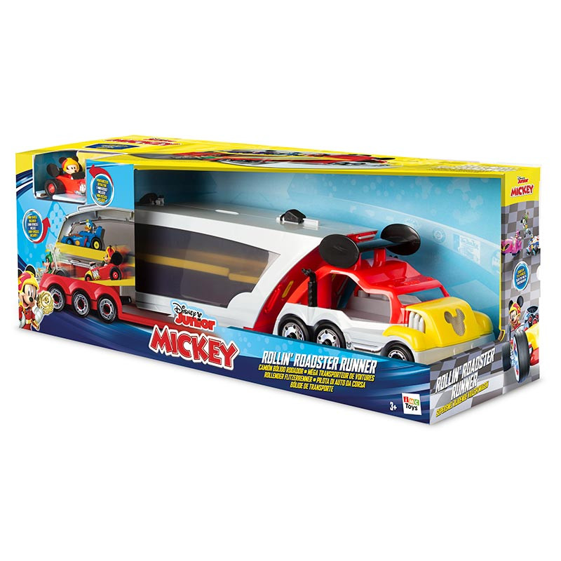 Mickey Camión bólido rodador