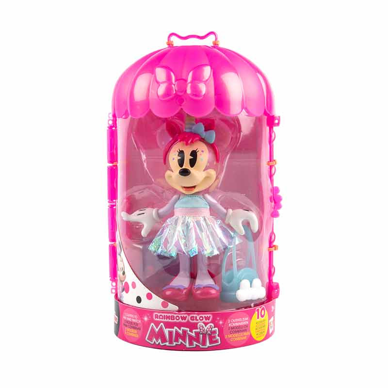 Minnie Fashion Doll Rainbow