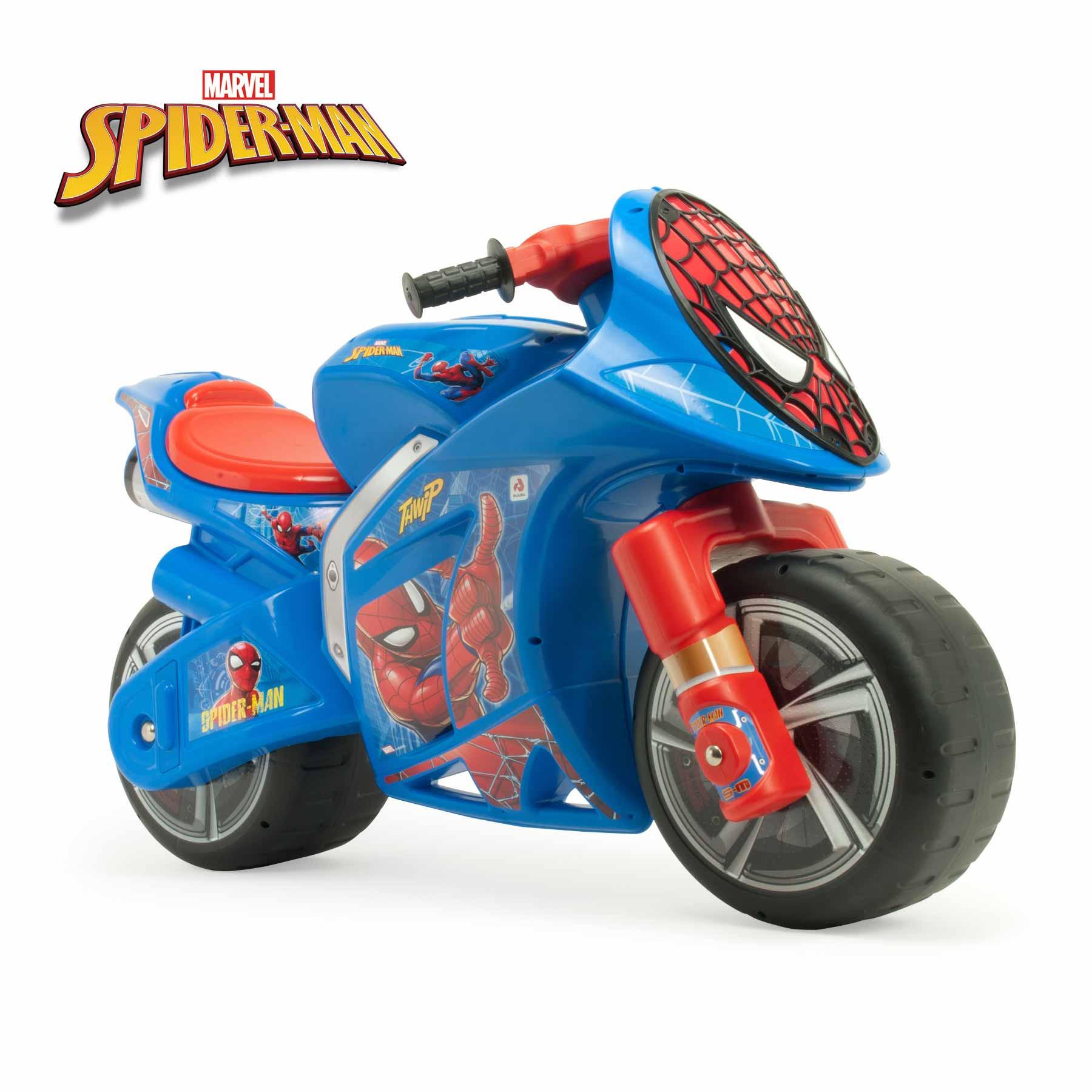 Scooter Andador XL Wind Spiderman Azul