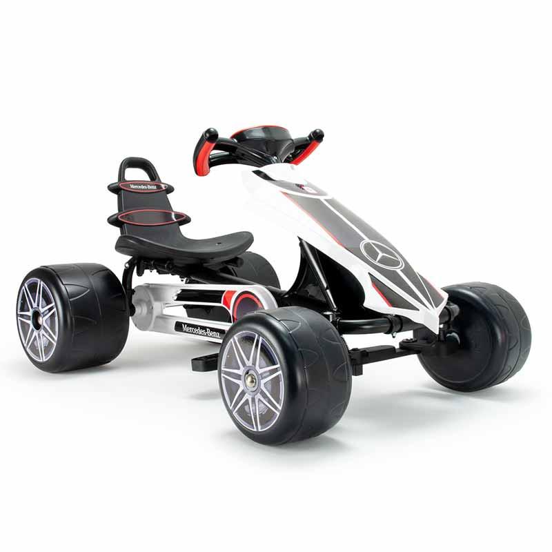 Go Kart flecha a pedais Mercedes