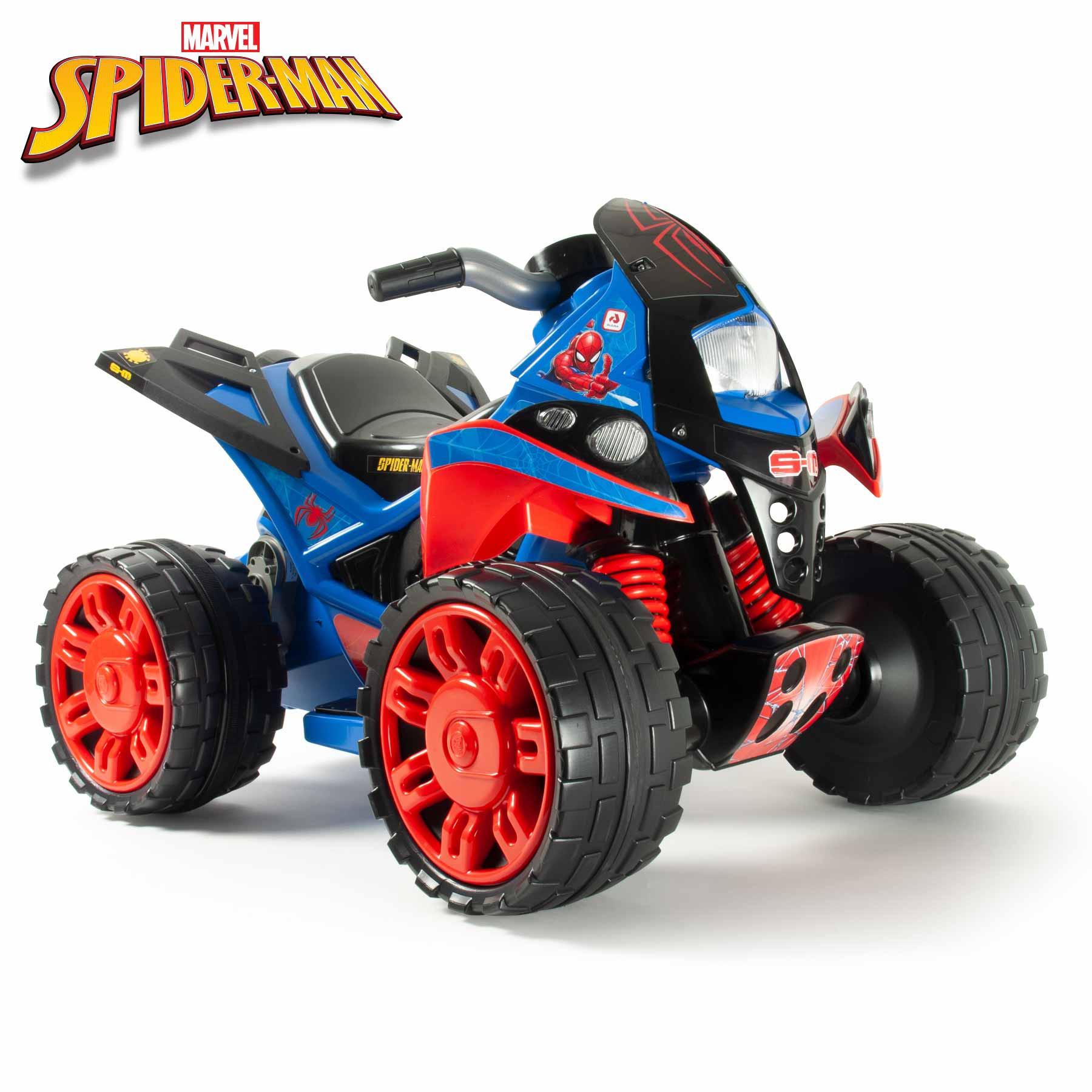 Quad The Beast SpiderMan 12V Color Azul