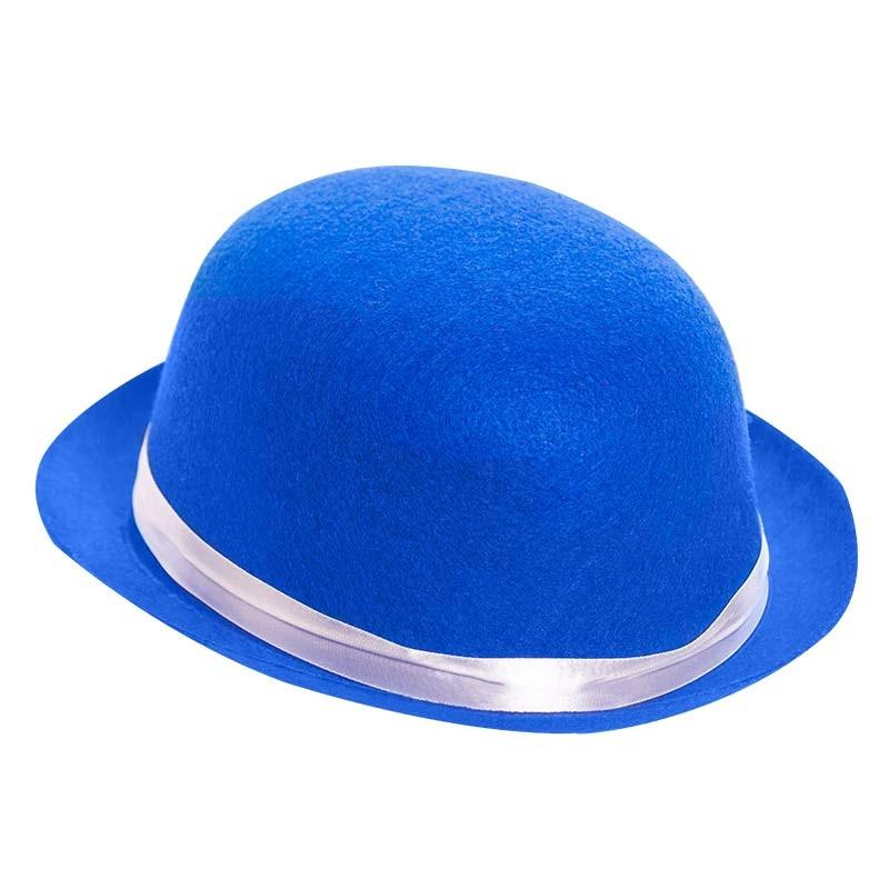 Chapéu-coco Azul
