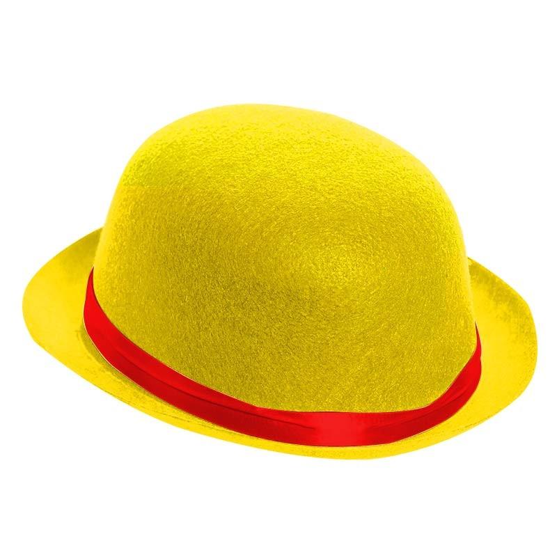 Chapéu-coco Amarelo