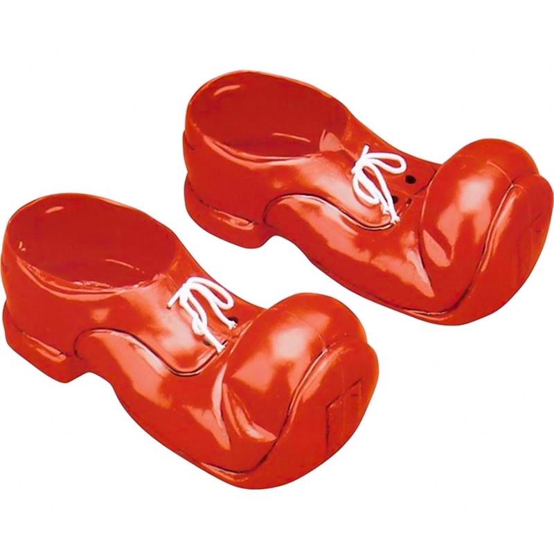 Sapatos de palhaço grandes