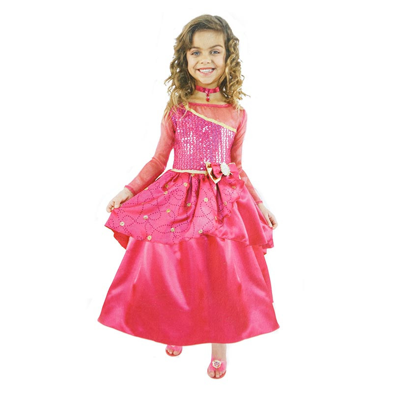 Disfarce Barbie Princess School Inf em Caixa