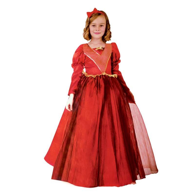 Disfarce Rainha Vermelha Infantil