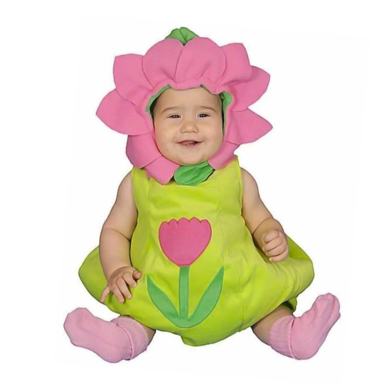 Disfarce peluche Tulipa bebé