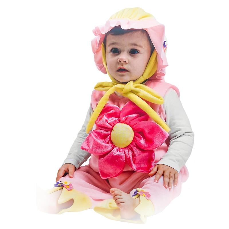 Disfarce peluche Flor bebé