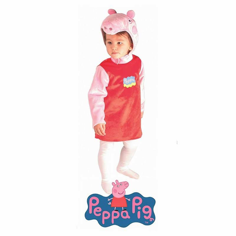 Disfarce Carnaval Peppa Pig Bebé - em bolsa