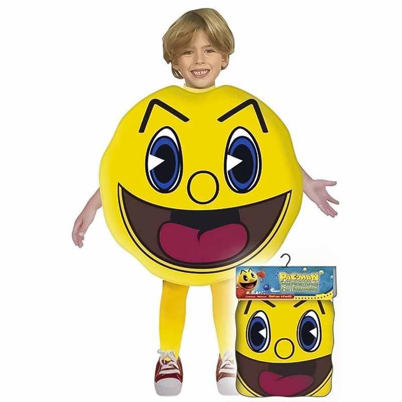 Disfarce Pacman Infantil em Bolsa