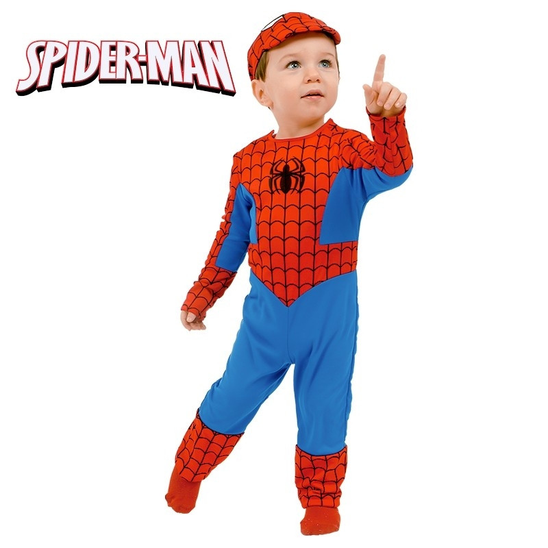 Disfarce Spiderman Bebe