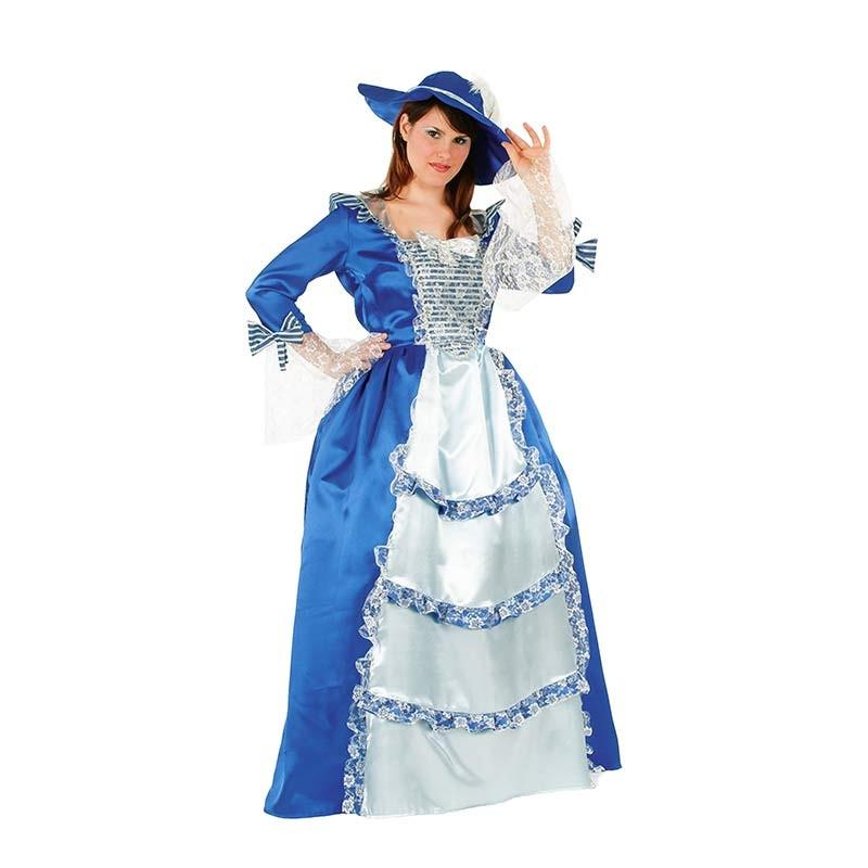 Disfarce Dama Azul Ad