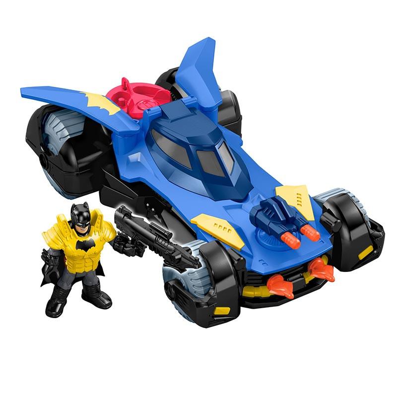 Batmobile deluxe com figura