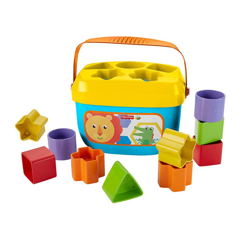 Fisher Price balde primeiras formas