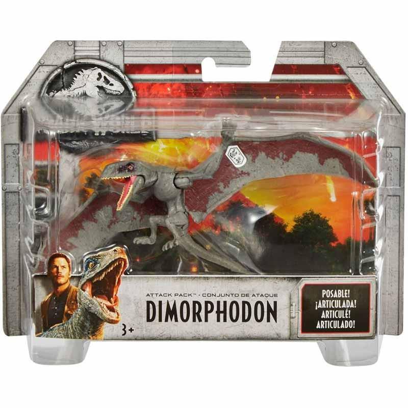Jurassic World dinosauros de ataque