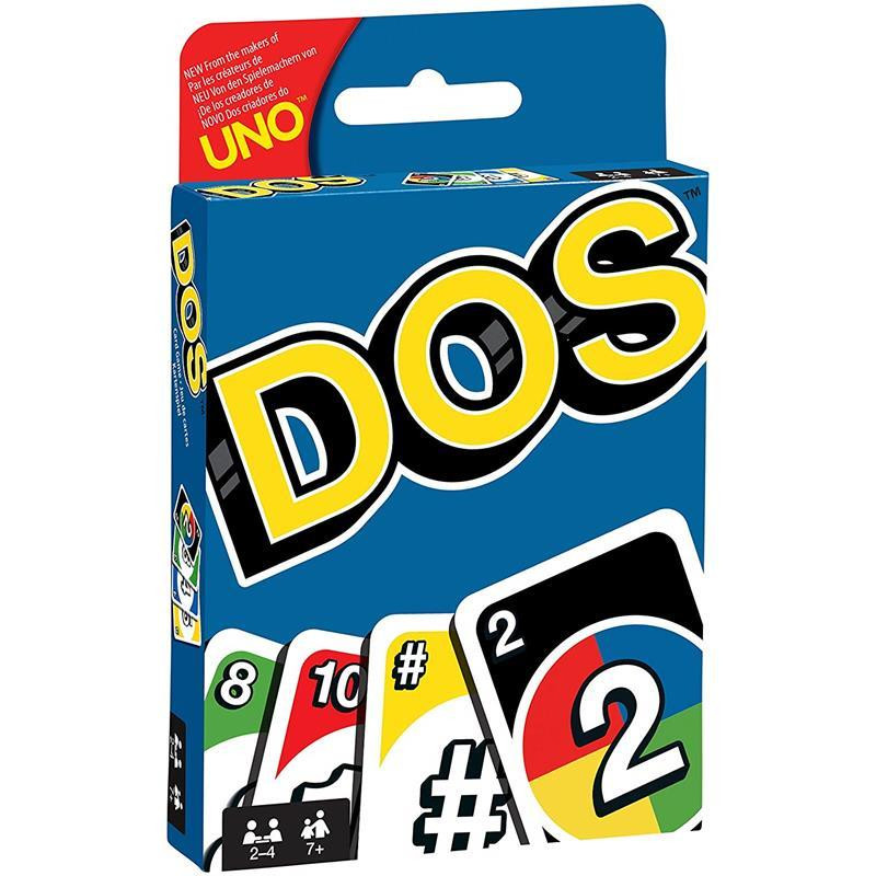 DOS de UNO jogo de cartas