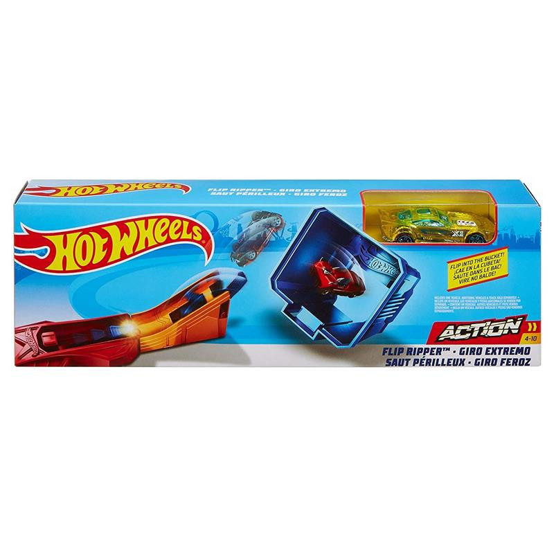 Hot Wheels lançador Classic stunt Flip Ripper