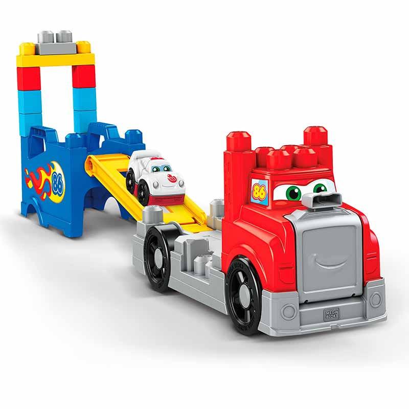 Mega Bloks camião corridas e construção