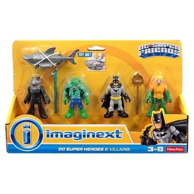 Imaginext Super-heróis e vilões DC