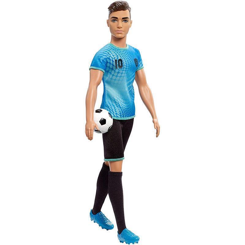 Barbie Ken Eu quero ser futebolista