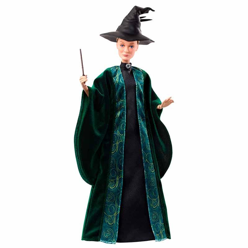 Professora Minerva com chapéu e varinha