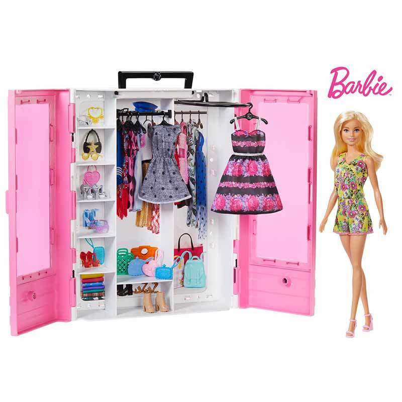 Barbie Super armario com boneca