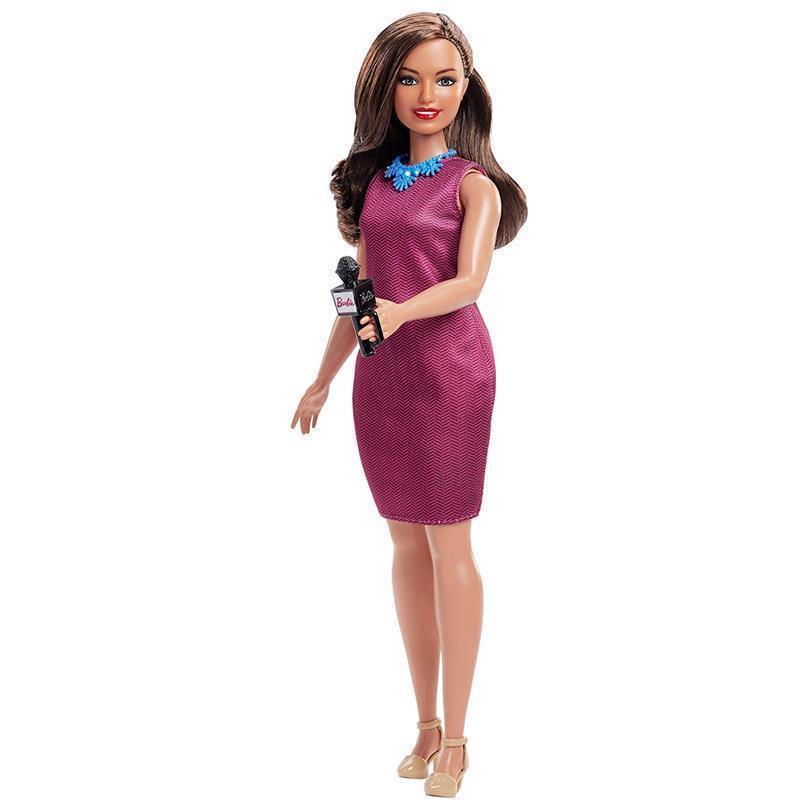 Barbie 60 th aniversário Apresentadora Televisão