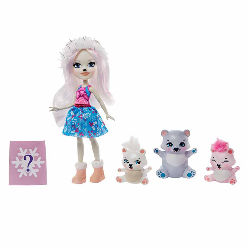 Enchantimals Urso Polar e Família