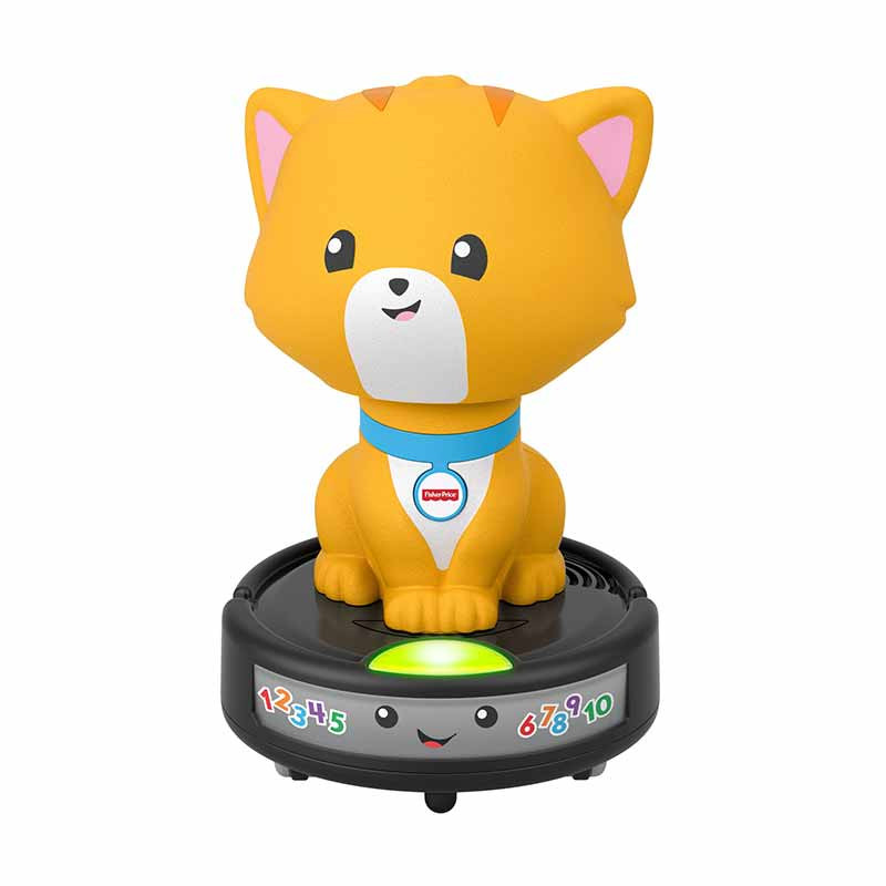 Gatito e aspirador gateos Fisher Price