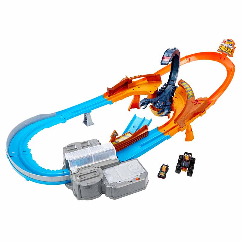 Hot Wheels Monster pista Escorpião Super Impulso