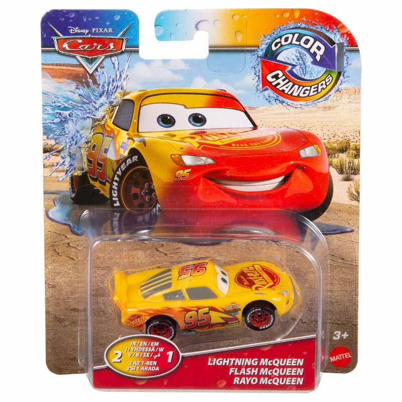 Cars color shifters - Faisca McQueen