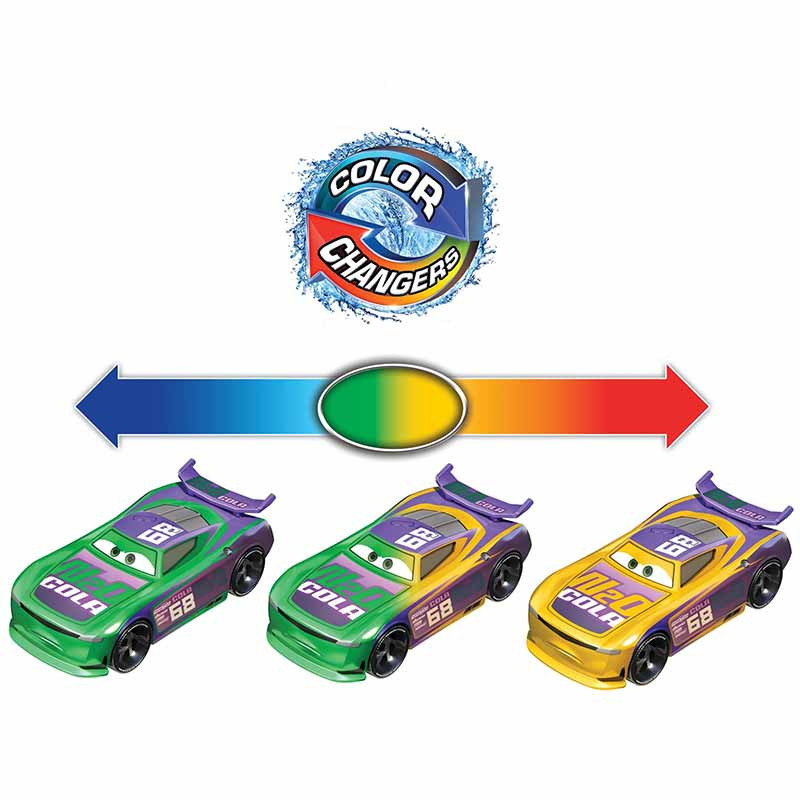 Disney Cars Color changer