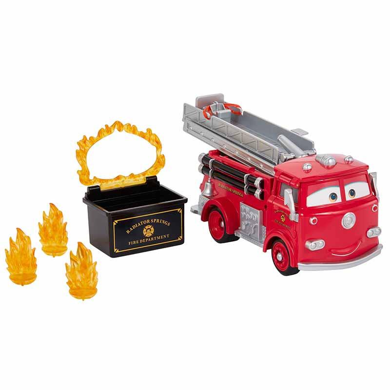 Cars vermelho - carro dos bombeiros