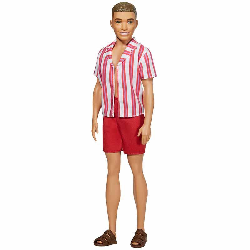 Barbie Ken 60 Aniversário calção de banho e camisa