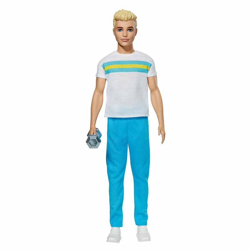 Barbie Ken 60 Aniversario moda desportiva