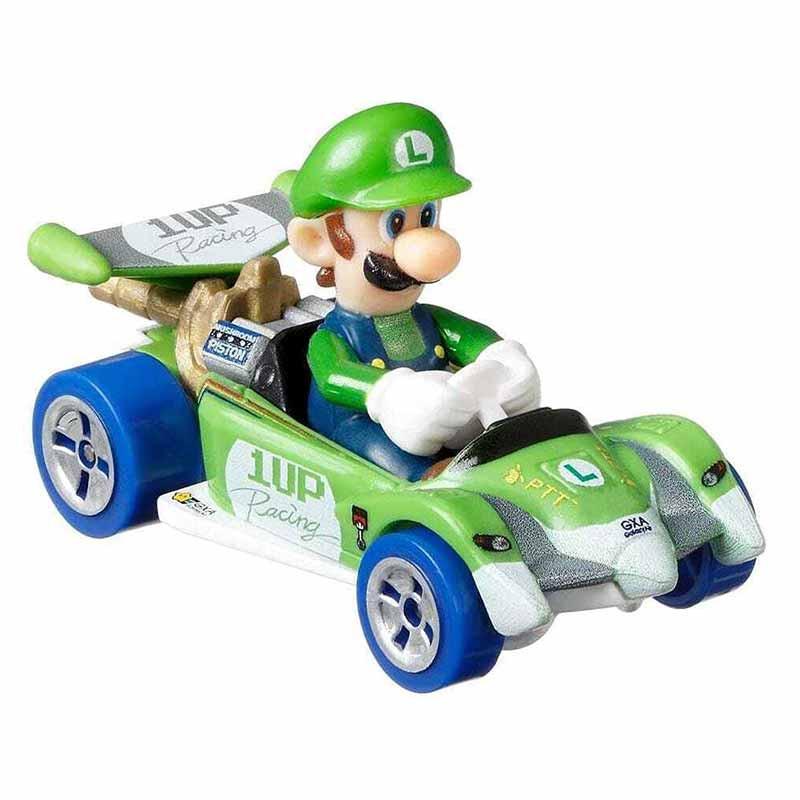 Hot WHeels carro Luigi Circuito Especial