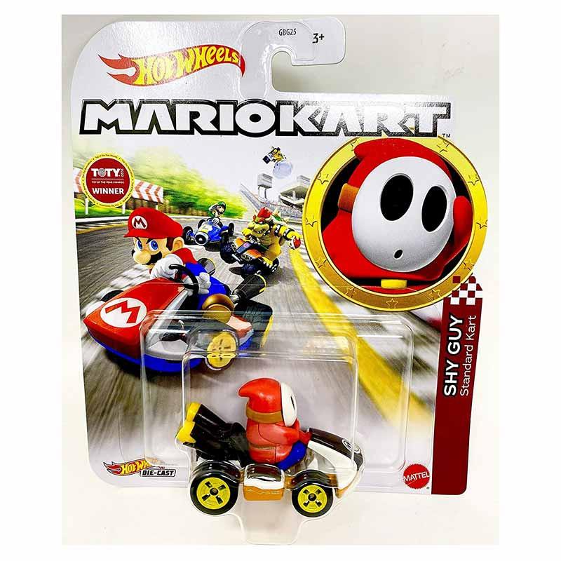 Hot WHeels carro Mario Kart Shy Guy