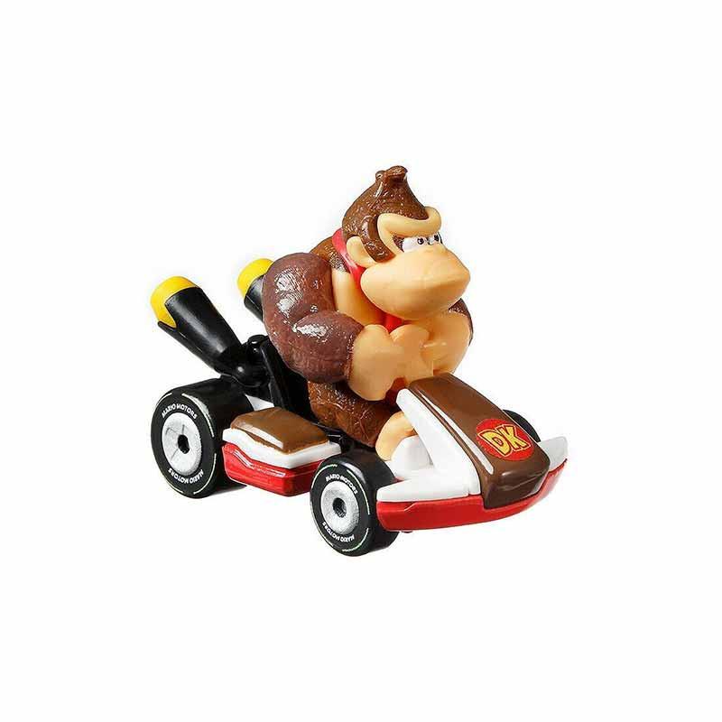 Hot WHeels carro Mario Kart Donkey Kong