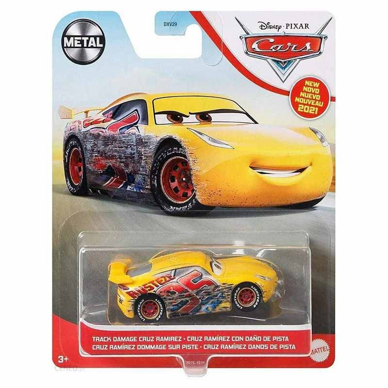 Disney Pixar Cars 3 Cruz Ramirez dano pista