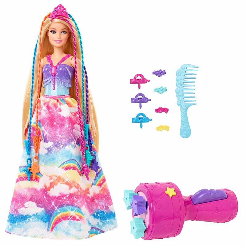 Barbie Dreamtopia Princesa Tranças às cores