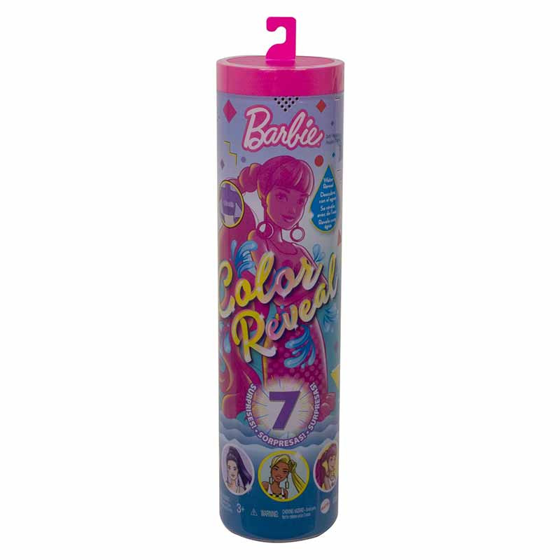 Barbie Color Reveal cor monocromática