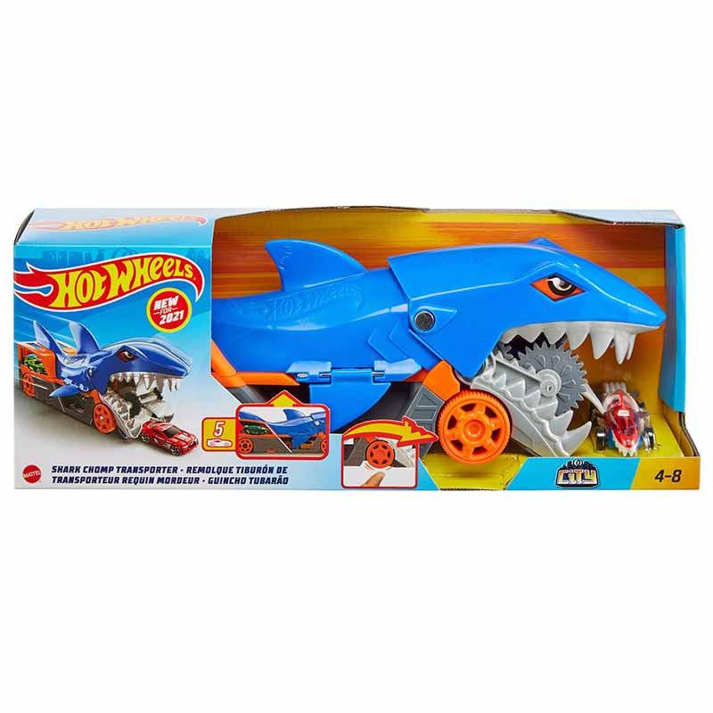 Hot Wheels Tubarão mastiga carros