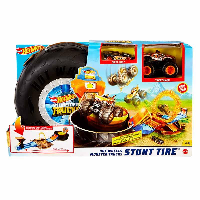 Hot Wheels Monster Trucks Roda de acrobacias