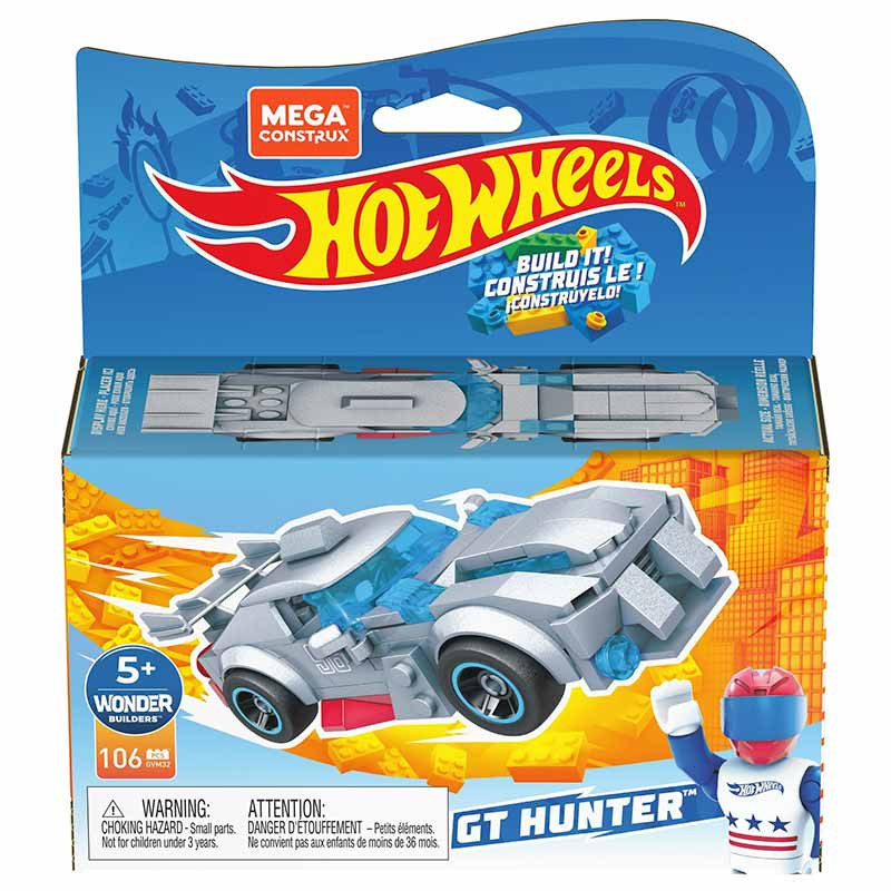 Mega Construx Carro de corridas GT Hunte