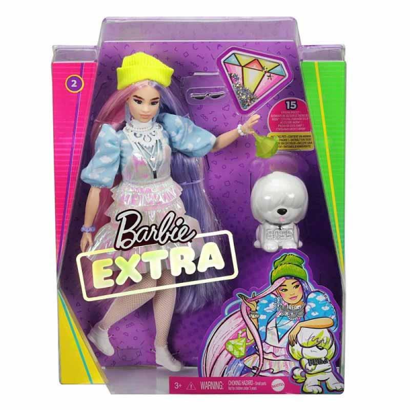 Barbie Extra com boina