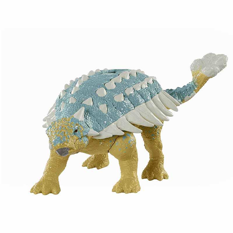 Jurrasic World ataque rugido Ankylosaurus