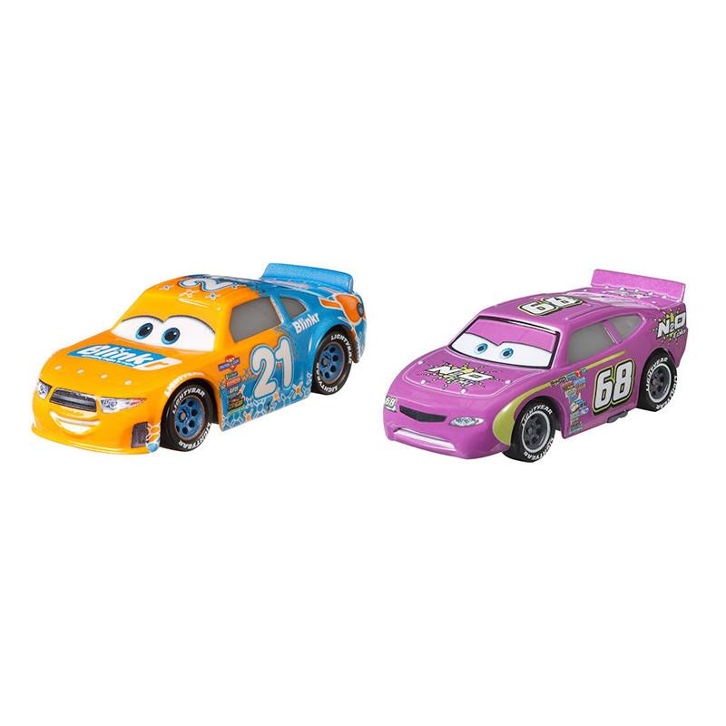 Cars Pack de 2 veículos Cars 3 Blinkr & N2O