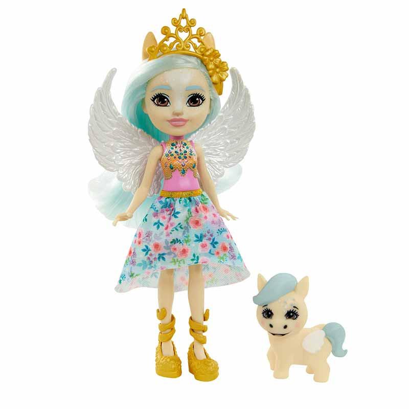 Royal Enchantimals Boneca Pegasus e mascota