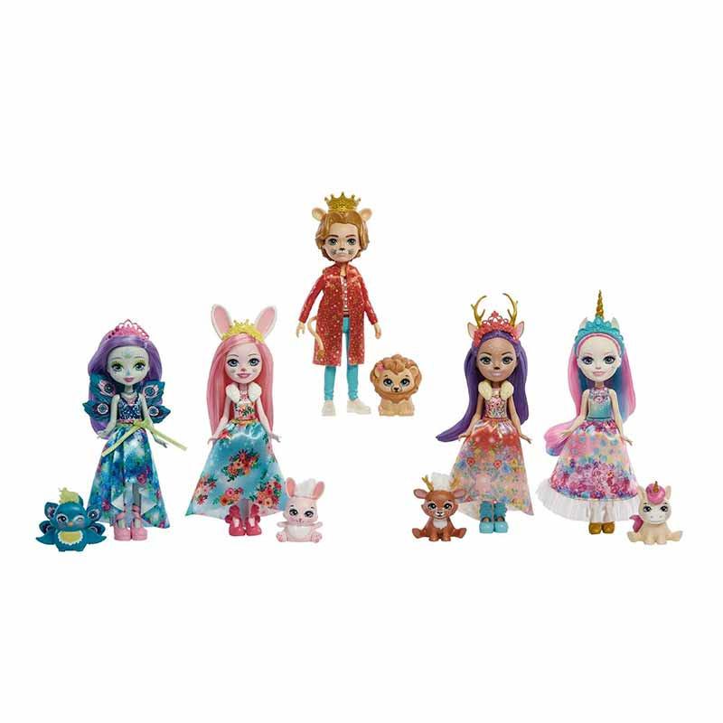 Royar Enchantimals pack 5 personagens